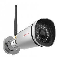 Camera IP HD exterieure infrarouge – Foscam FI9900P – Argent