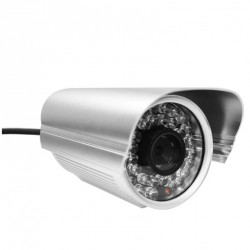 Camera IP PoE HD exterieure infrarouge – Foscam FI9805E – Argent