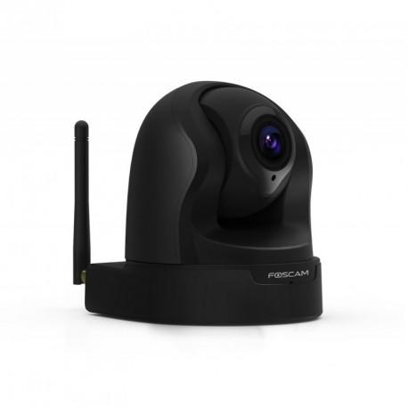 Camera IP wifi HD interieure motorisee infrarouge – Foscam FI9826P – Noir ou Blanc