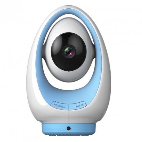 Camera IP wifi HD interieure motorisée infrarouge – Foscam FosBaby P1 – Bleu ou Rose