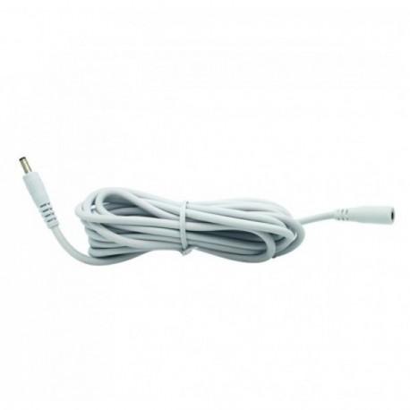 Rallonge pour camera IP Foscam 3m (3.5mm / 5v) – Blanc