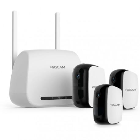 Caméra IP autonome intérieur/extérieure avec passerelle wifi - Foscam E1