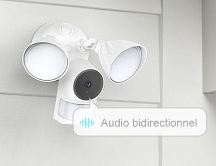 Caméra extérieure Floodlight Foscam