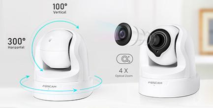 Caméra motorisée intérieure - Foscam FI9926P