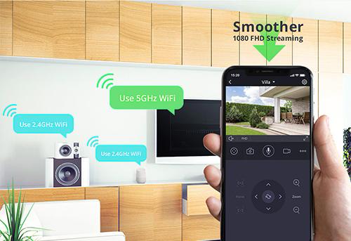 Contrôle à distance application mobile