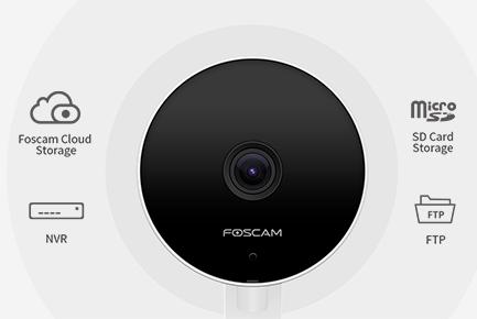 Caméra Focam C2M intérieure 1080p