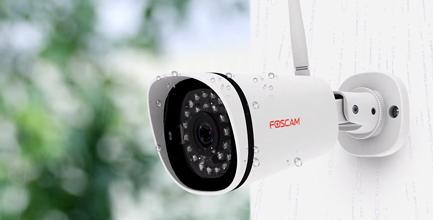 4 caméras Wi-Fi FI9800W intériueres / extérieures et NVR FN3104W