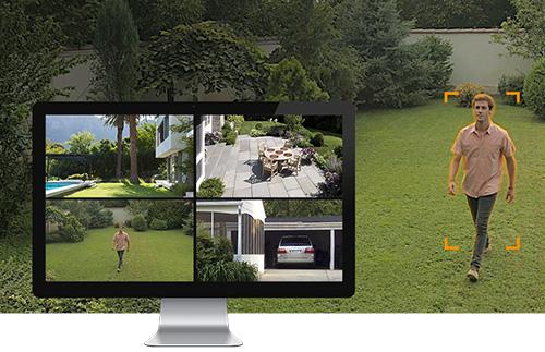 Kit de vidéosurveillance NVR 4 caméras FN7104W-B4-1T