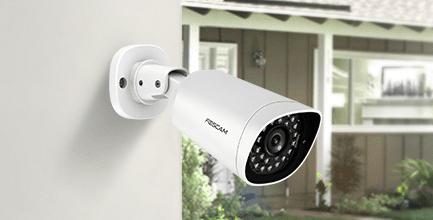 Caméra IP Foscam G4EP  offre une résistance aux conditions extérieures (pluie, poussières...)